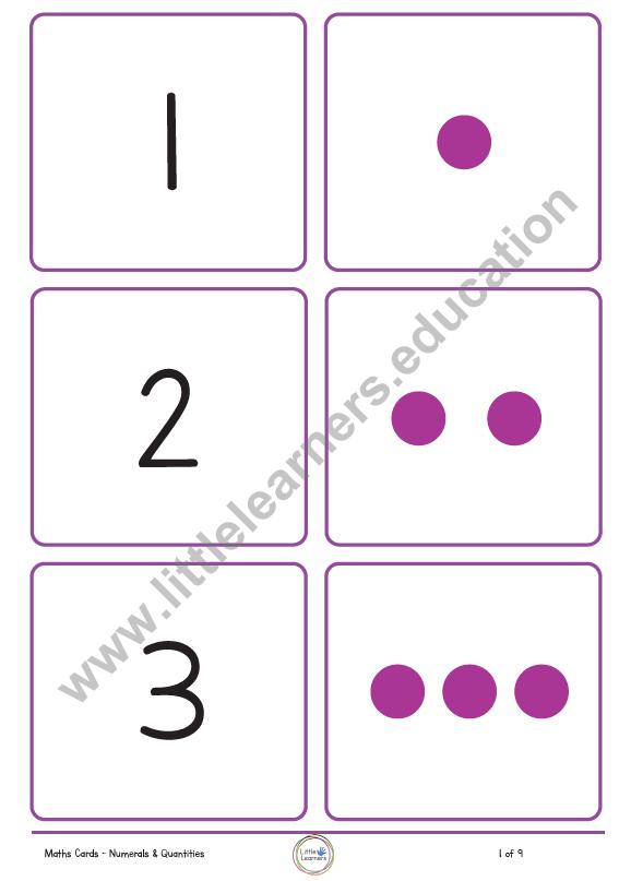 Maths dice flashcards